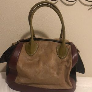 Pour La Victoire satchel with storage bag